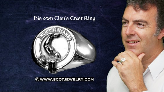 Man's Ring - Armstrong clan
