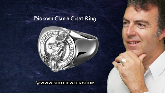 Man's Ring - Davidson Clan
