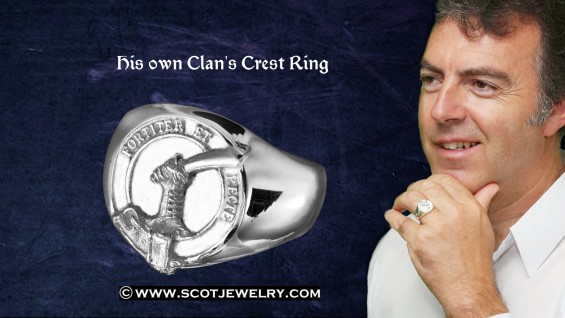 Man's Ring - Eliott Clan