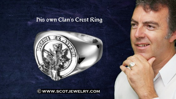 Man's Ring - Ferguson Clan