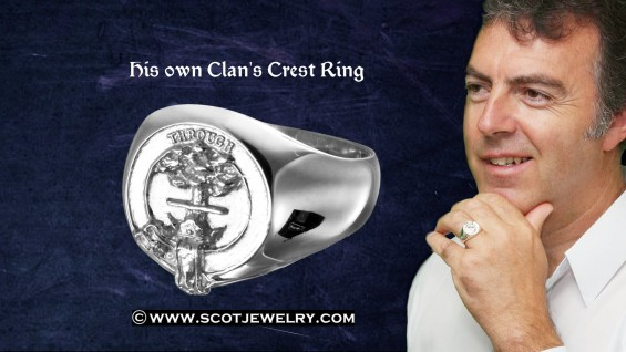 Man's Ring - Hamilton Clan