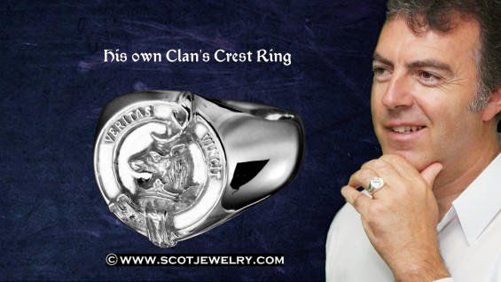 Man's Ring - Keith Clan