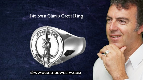 Man's Ring - MacAlister Clan