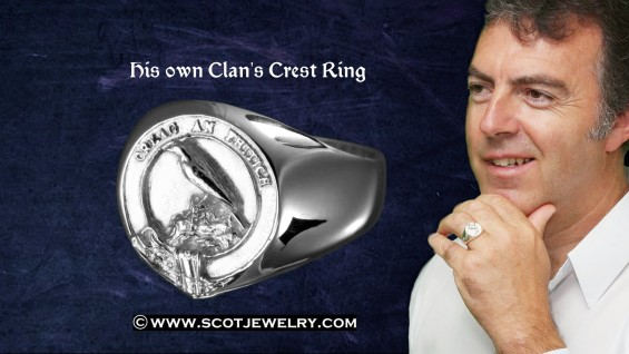 Man's Ring - MacDonnell Clan
