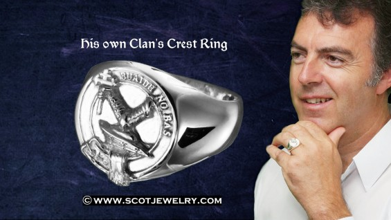Man's Ring - MacDougall Clan