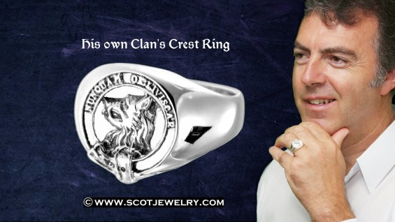 Man's Ring - MacIver Clan