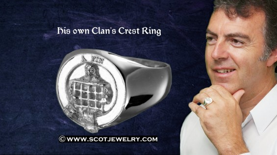 Man's Ring - Ogilvy Clan
