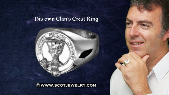 Man's Ring - Robertson Clan