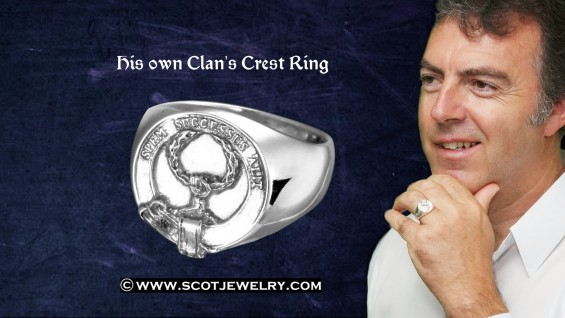 Man's Ring - Ross Clan