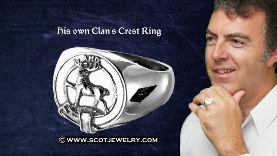 Family Crest Rings Scott Ring Family Crest Rings For