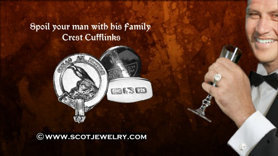 Clan Macdonnell Cufflinks