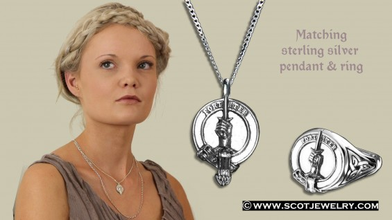 Clan Macalister Pendant D
