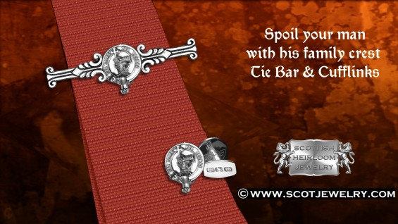 Clan MacDonald Tie Bar